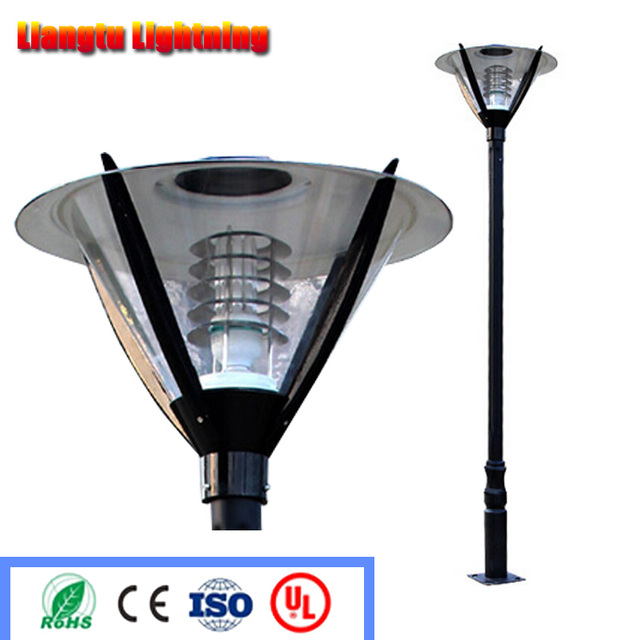 Light Pole Design: Street Lamp Pole Landscape Light Pole Europe Garden