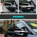 ABS chrome Car accessories Chrome Side Mirrors Anti-rub Decoration Protector fit for FORD EXPLORE 2016