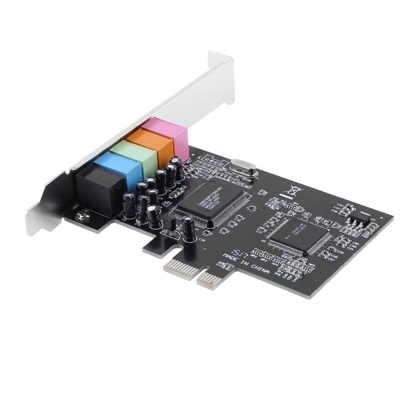 Pci Sound Card PCI Encoding 6 Channel Audio Sound Card CMI8738 PC 5.1 Stereo Computer Soundcard чехол флип pulsar shellcase для sony xperia z4 z3 черный
