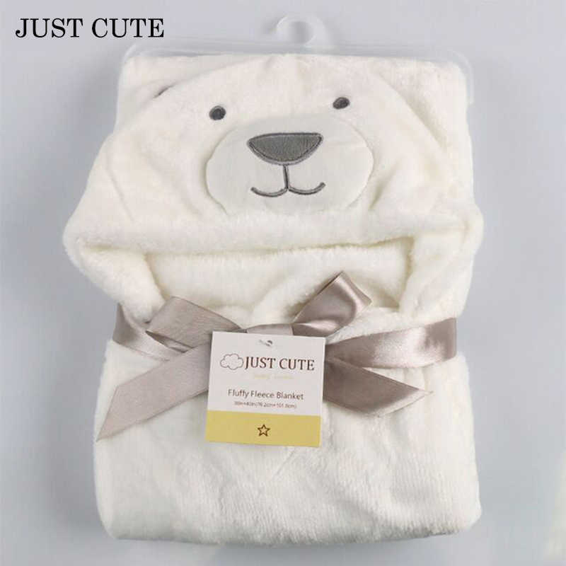 12 Colors 3D Baby Blanket 2016 Soft Hooded Animal Baby Bathrobe Soft Cartoon Baby Towel Character Kids Bath Robe Infant Towel