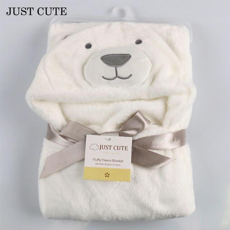 12 Colors 3D Baby Blanket 2016 Soft Hooded Animal Baby Bathrobe Soft Cartoon Baby Towel Character Kids Bath Robe Infant Towel