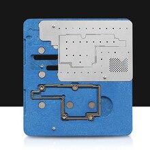 Логическая плата BGA Инструменты для ремонта iPhone X посадки олова приспособление материнская плата интегральная микросхема шаровая паяльная пластина