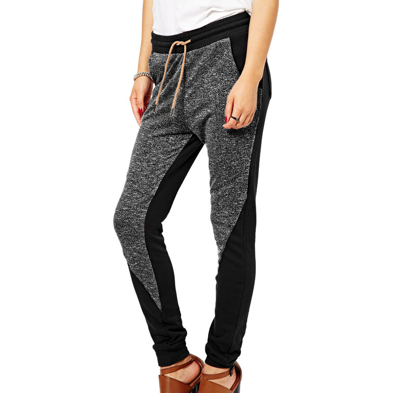 Aliexpress.com : Buy 2017 Fashion Women Patchwork Harem Pants ...