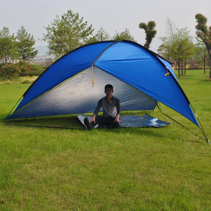 Picnic Shelter Canopy : Uv huge sun shelter hiking canopy picnic sunshade party