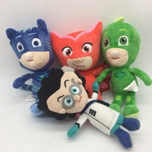 4pcs lot 20cm Masks Amaya Owlette Greg Gekko Stuffed Animals PJMasks Plush Doll font b Toys