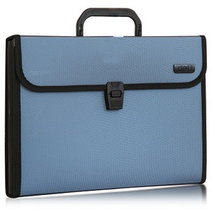 Image 4 - 델리 1 pcs a4 파일 폴더 문서 가방 확장 지갑 비즈니스 시리즈 폴더 가방 사무실 학교 용품 4 색