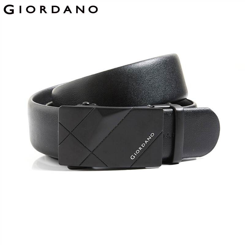 Giordano Men Belt Men Quality Fabric Giordano Brand Logo Fashion Belt Durable Automatic Metal Buckle Belt Men