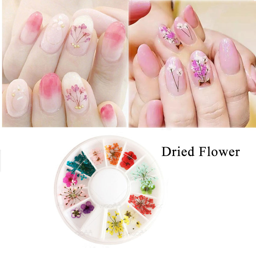 Fancy Manicure Salon Decoration: Manicure Nail Decoration 3D Rhinestones Sheet Metal Dried