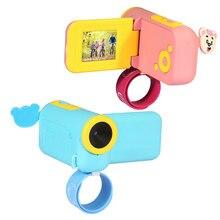 Забавная детская спортивная камера селфи Мини Детские камеры модные развивающие игрушки HD портативные