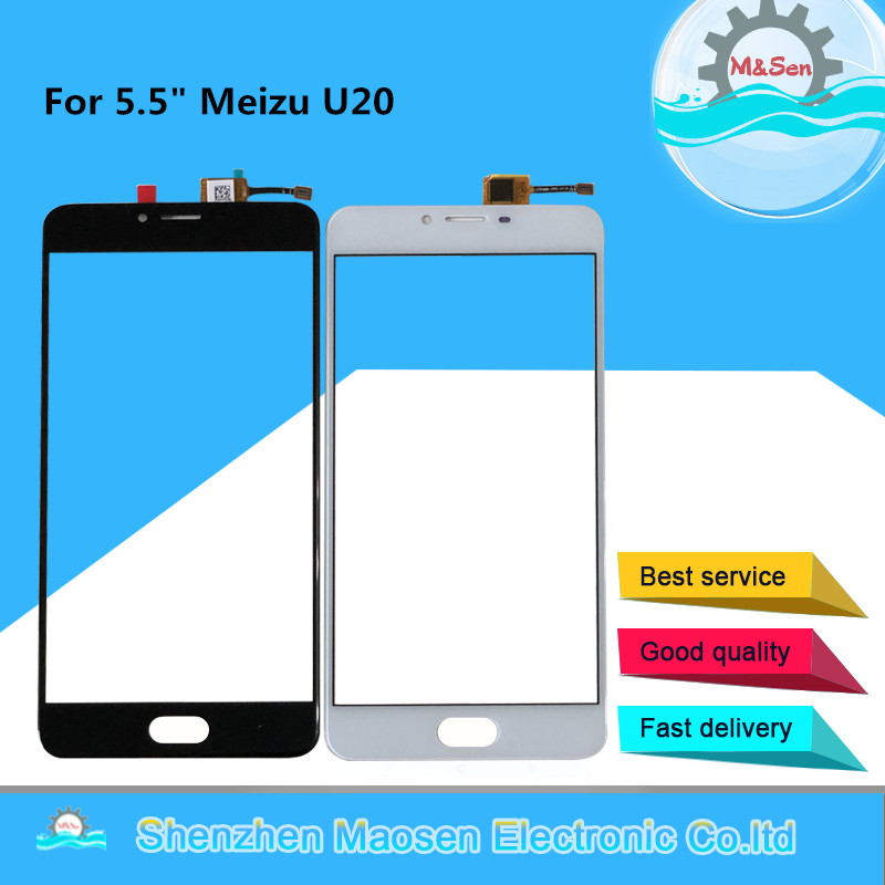 M&Sen For 5.5 Meizu U20 Front Outer Glass Touch Screen Panel Digitizer For Meizu U20 Touch Sensor Screen Digitizer With ToolsM&Sen For 5.5 Meizu U20 Front Outer Glass Touch Screen Panel Digitizer For Meizu U20 Touch Sensor Screen Digitizer With Tools