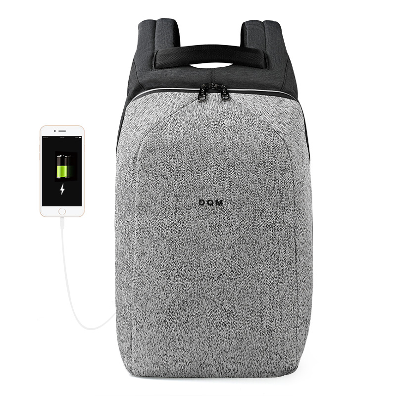 2018 DQM résistant à la Coupure mochila USB 15.6 Ordinateur Portable Sacs À Dos Voyage Antivol sac étanche sac à dos pour homme