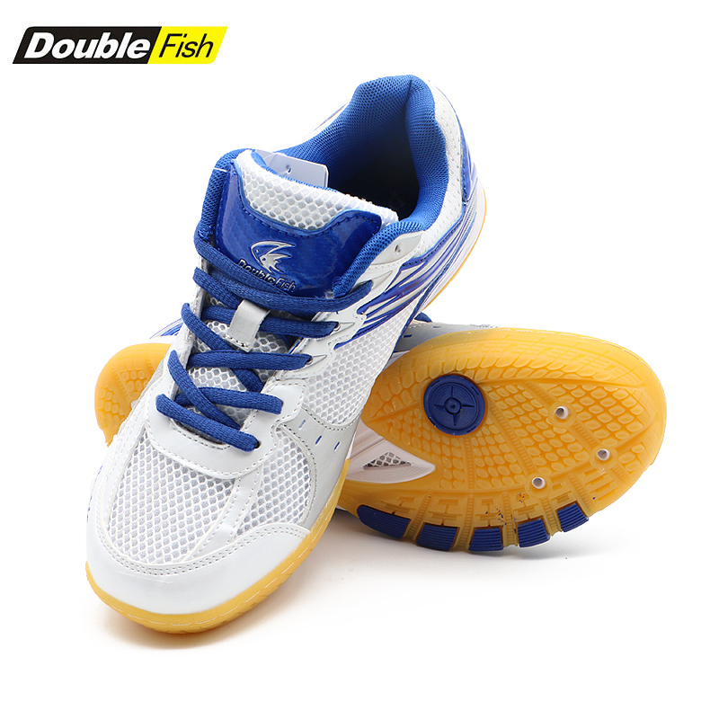 New Arrival DOUBLE FISH DF-868 Table Tennis Shoes For Men Women Breathable Anti-slippery Ping Pong Sneakers DF-868