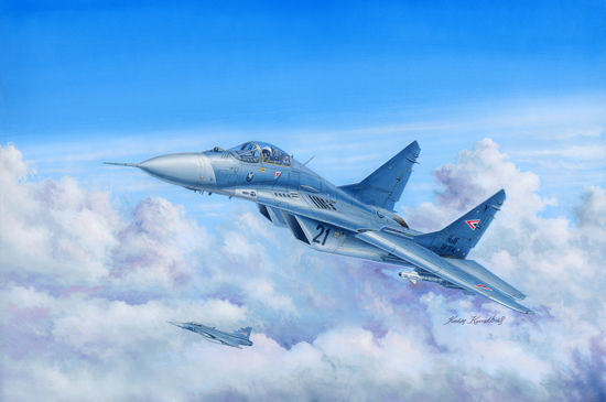 1pcs Action Figures Kids Gift Collection For Trumpeter 03223 1/32 Russian MIG-29 A Fulcrum fighter de montage Kit Model realts trumpeter 1 32 03223 russian mig 29a fuicrum model kit