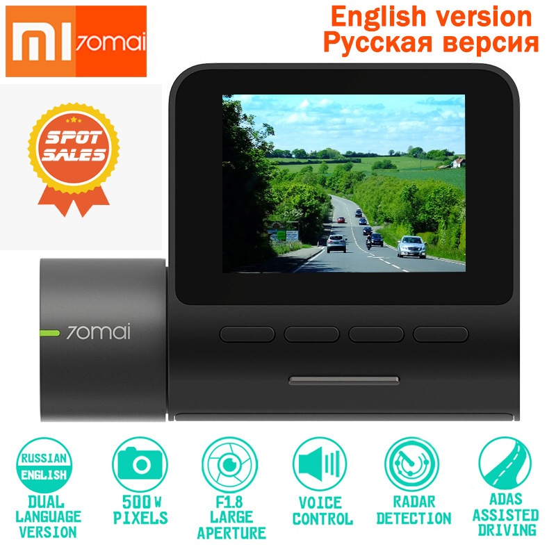 Original XIAOMI Dash Cam Pro DVR 1944P HD Night Version Dash Car Camera Smart Voice Control 140 FOV Function Parking Monito WIFIOriginal XIAOMI Dash Cam Pro DVR 1944P HD Night Version Dash Car Camera Smart Voice Control 140 FOV Function Parking Monito WIFI