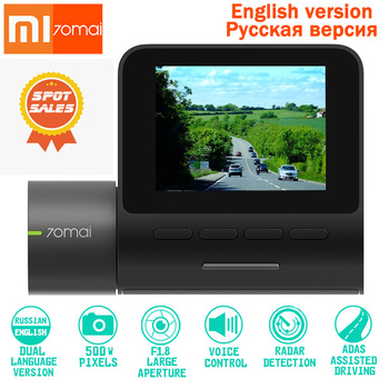 Original XIAOMI Dash Cam Pro DVR 1944P HD Night Version Dash Car Camera Smart Voice Control 140 FOV Function Parking Monito WIFI