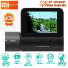 Originale XIAOMI Dash Cam Pro DVR 1944 P HD Versione di Notte Dash Videocamera per auto Funzione di Controllo Vocale Intelligente 140 FOV di Parcheggio monito WIFI