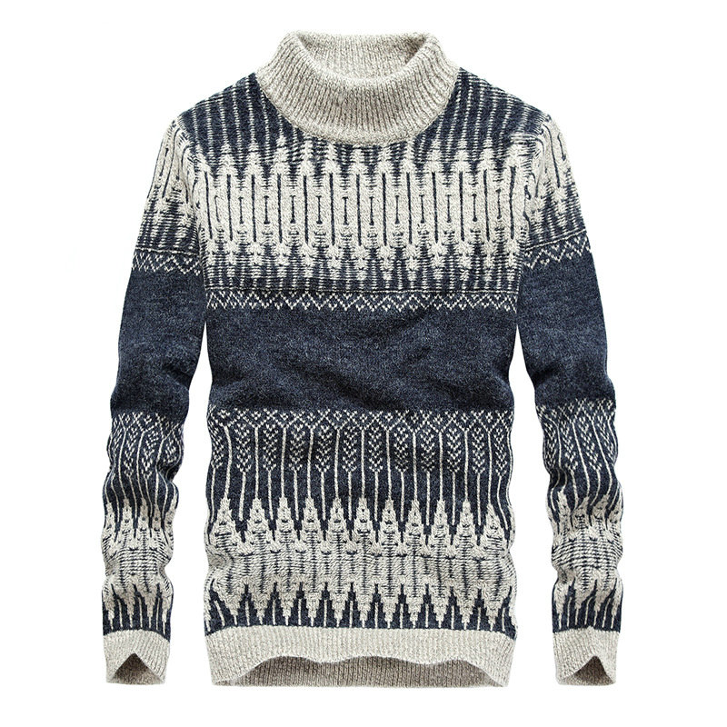 2018 Hot Fashion Autumn Winter Knitted Sweater Men Casual Warm Men's Pullover Sweaters