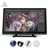 XP Pen 21.5 HD IPS Graphic Tablet Interactive Monitor Full View Angle Extended Mode Display for Apple Macbook supporting HDMI
