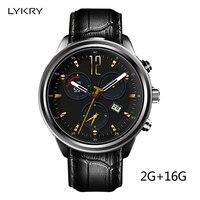 LYKRY X5 Air 3g Смарт часы вызова gps 2 ГБ + 16 ГБ MTK6580 Bluetooth Watchphone Android 5,1 Часы Smartwatch для IOS iphone часы