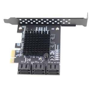 Image 5 - PCIe 2.0 x1 to SATA III 6 Ports Adapter Card Marvell Chipset Non Raid For IPFS Hard Drive Mining and Adding SATA 3.0 Devices