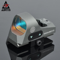 AIMTIS 1x25 Mini Reflex Sights Shotgun 3 MOA Dot Reticle Red Dot Sight With 1913 Mount