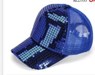 50 шт./лот Federal Express быстро в Корейском стиле повседневные платья Регулируемый блестками Бейсбол Кепки для мальчиков и девочек спортивная шапочка - Цвет: 5
