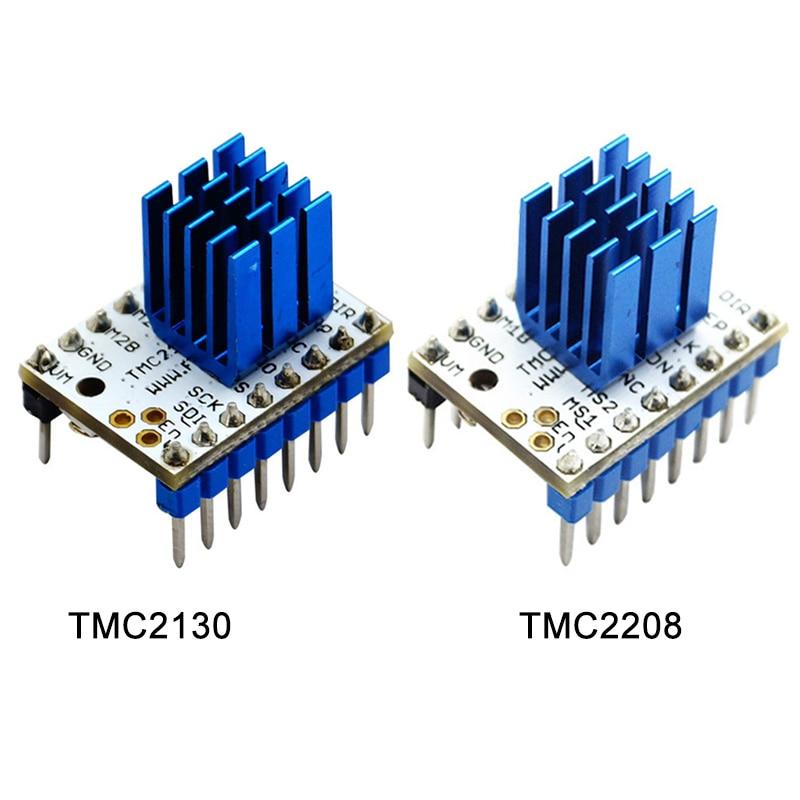 TMC 2130/2208 Stepstick Stepper Motor Pilote Module avec Dissipateur de Chaleur pour Imprimante 3D XXM8