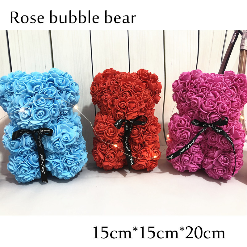 Aliexpress Com Buy Home Utility Gift Birthday Gift Girlfriend Gifts Diy From Reliable Gift Diy: Aliexpress.com : Buy Handmade Valentines Gift Rose Bear