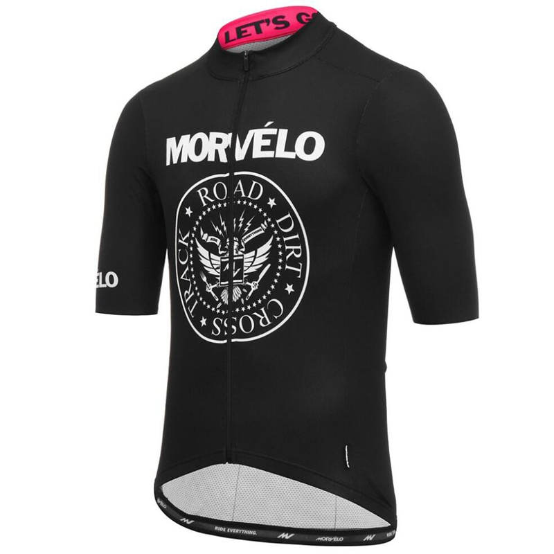 Cycling Jersey Shirt Short-Sleeve Racing-Wear Team Morvelo Traje-De-Ciclismo Summer Classic