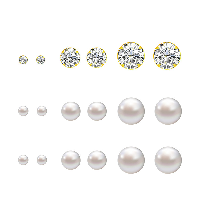 Popular 4mm Pearl Earrings-Buy Cheap 4mm Pearl Earrings lots from ...