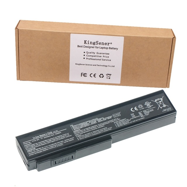 5200mAh Original Laptop Battery for ASUS A32-N61 A32-M50 A33-M50 N61 N61J N61D N61V N61VG N61JA N61JV M50 M50S M50SV M50Sr G50V