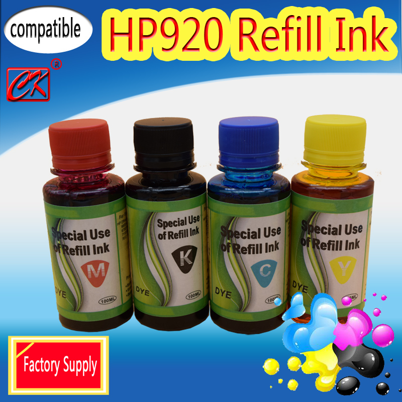 Factory Suppy Compatible Refill HP920 FOR HP OfficeJet 6000 For HP OfficeJet 6000 AIO-E608a