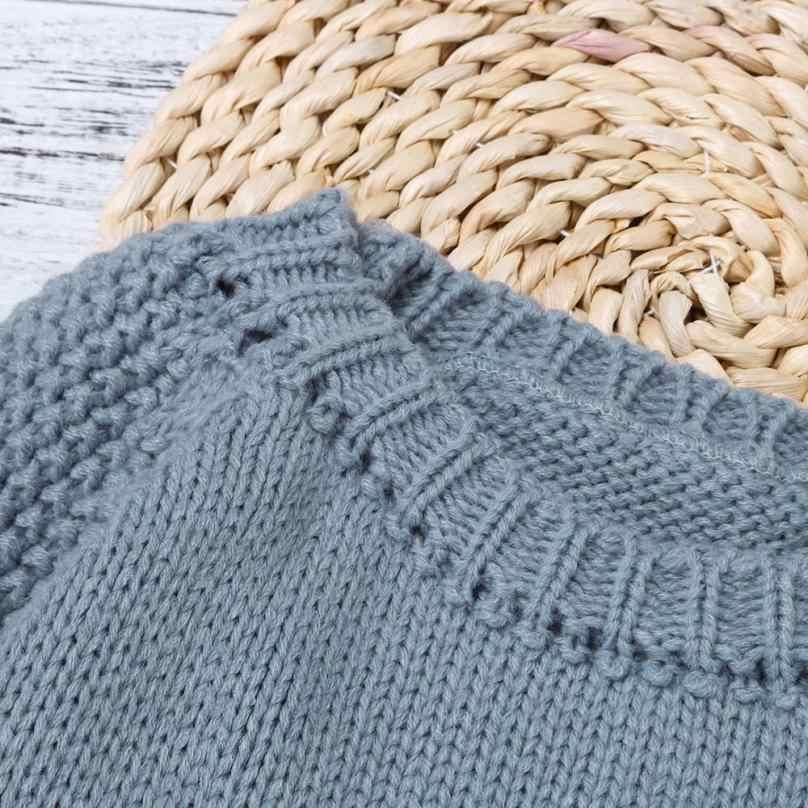 Малышей Обувь для девочек Дети Детские облако свитер вязать Пуловеры для женщин теплое пальто Верхняя одежда 19 сентября