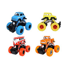 Kids Cars Toys Monster Truck Inertia SUV Friction Power Vehicles Baby Boys Super Cars Blaze Truck Children Gift Toys 2019 4.10(China)
