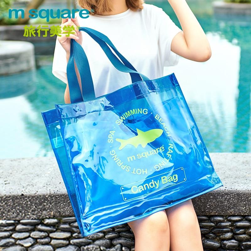 M Square Travel PVC ხელჩანთა ქალთა - ჩანთები - ფოტო 1
