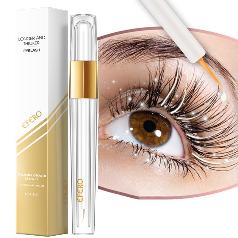 Eyelash Growth Eye Serum Eyelash Enhancer Eye Lash Serum Treatment Eye Lashes Extensions Mascara Thicker Longer Eye Makeup TSLM1