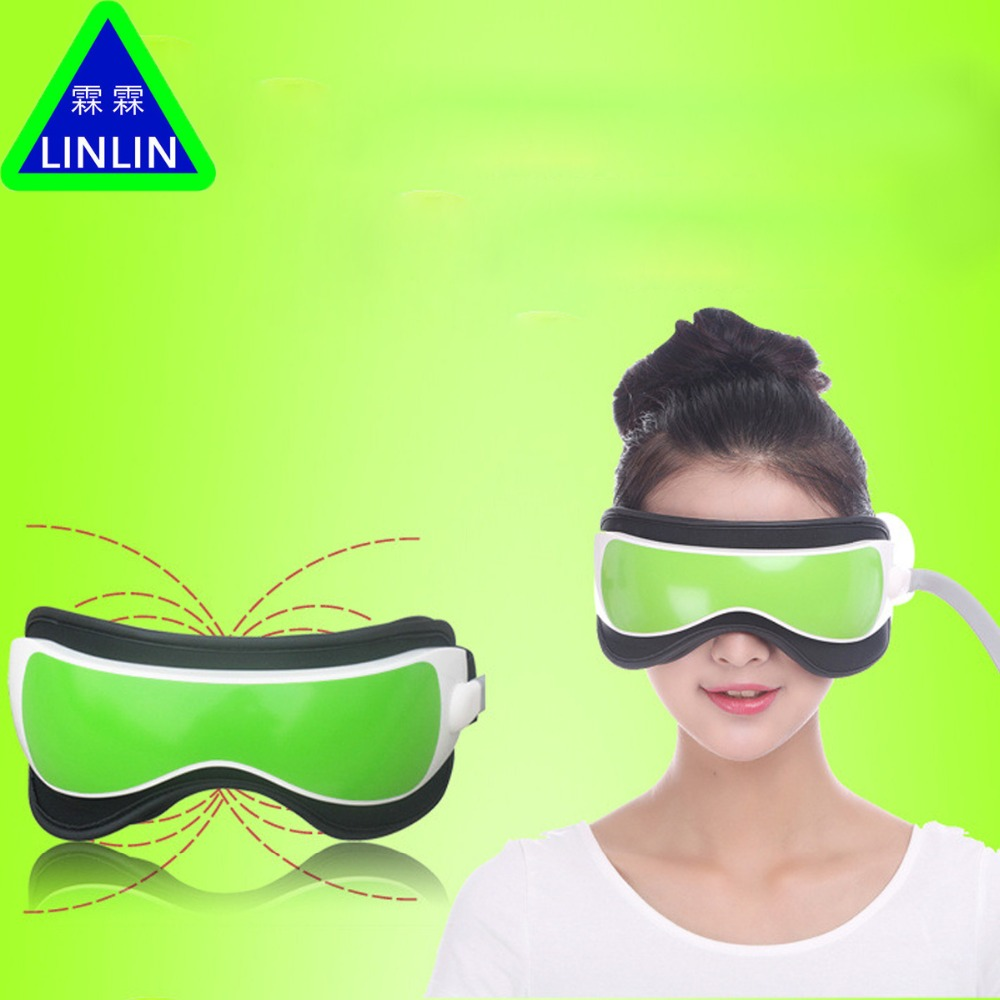 LINLIN Gustala ciśnienia powietrza masażer okolic oczu z MP3 6 funkcji rozwiać worki pod oczami oko magnetyczny dalekiej podczerwieni ciepła darmowa wysyłka w Masaż i relaks od Uroda i zdrowie na  Grupa 2