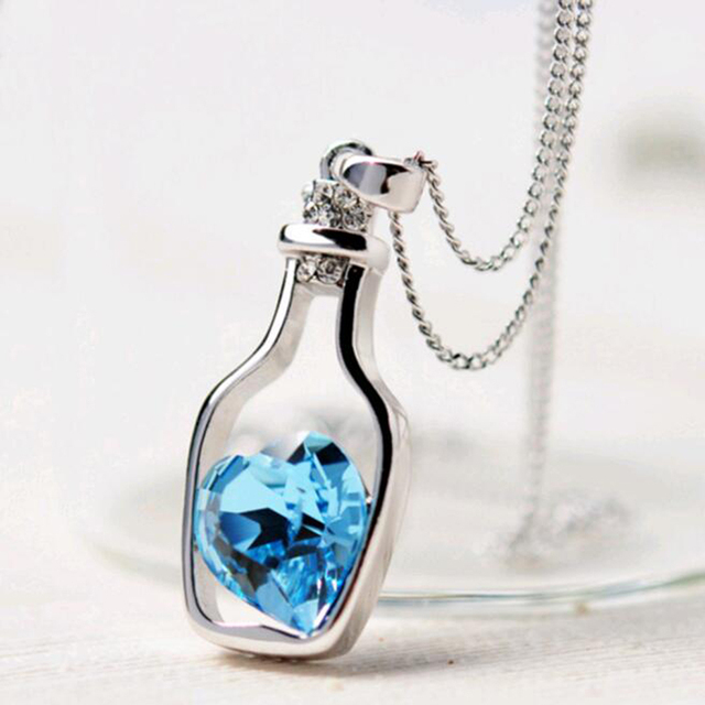 Love Drift Bottle Pendant