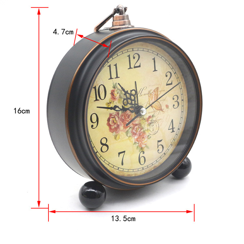 Lovely Aliexpress.com : Buy 4 Inch Retro American Desktop Alarm Clock Silent Clock  Creative Mute Home Bedroom Office Clocks From Reliable Office Clock  Suppliers On ...
