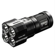 Распродажа! Nitecore 6000LMS 4xcree XHP35 Привет LED Перезаряжаемые Высота света фонарик TM28 Шестерни Охота Открытый Поиск Бесплатная доставка