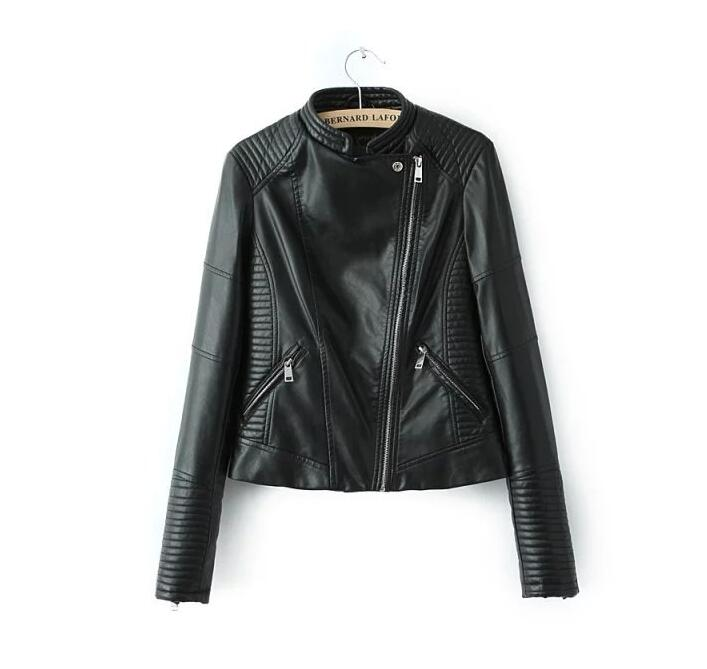 Very good quality   leather   jacket women faux   leather   jacket women coat   leather   jaqueta feminina de couro female   leather   jacket