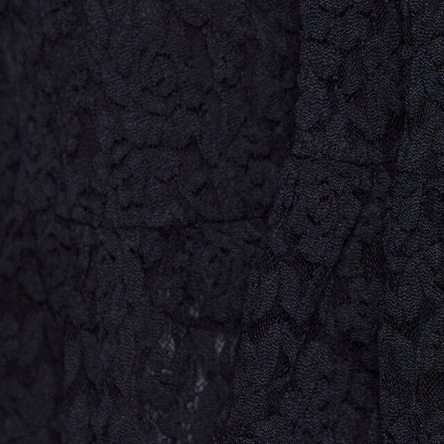 Women Lace Ball Gown Dress Vintage Short Sleeve V-Neck A-line Dress Summer Party Gothic Elegant Celebrity Black High Waist Dress 5