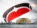 Envío de la alta calidad M 12 metros cuadrados línea quad poder kite surf papagaio pipas aguia tabla de kite paracaídas ciclo kevlar