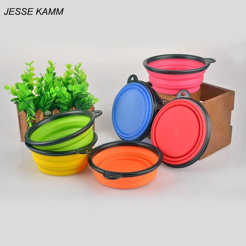 JESSE KAMM Venta Caliente de Productos Para Mascotas de silicona Tazón para masc