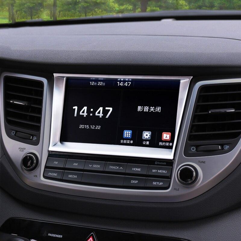 2018 Hyundai Tucson Interior: Car Styling Interior Navigation Control Panel Decorative