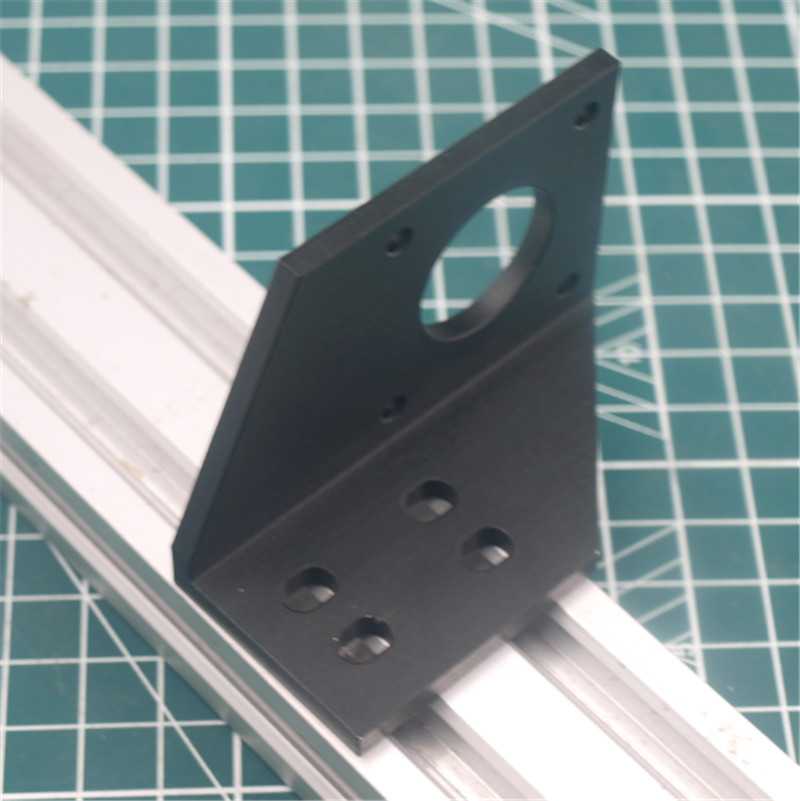 1pcs aluminum Y motor mount for AM8/Anet 3D printer metal Y stepper motor mount <font><b>2040</b></font> <font><b>v</b></font>-<font><b>slot</b></font> image