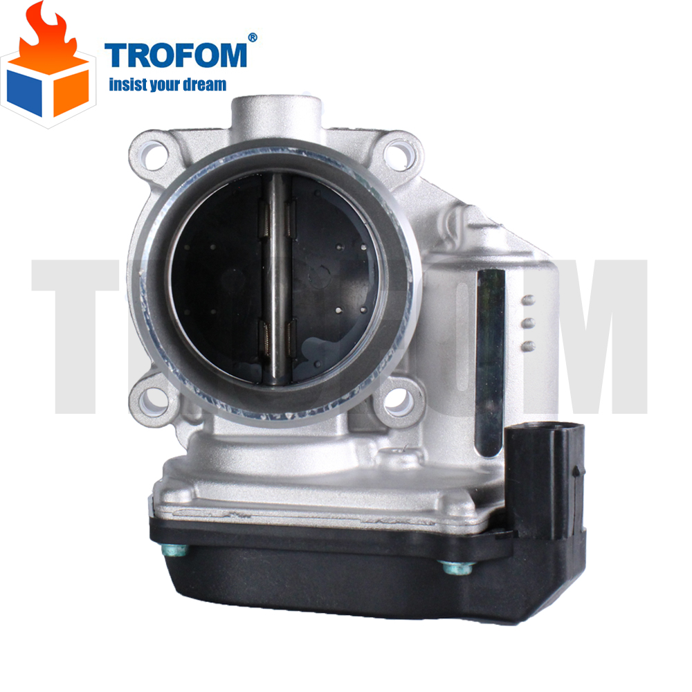 Throttle Body Assembly For Audi A3 A4 A5 Q5 TT VW Beetle Golf Polo Jetta Skoda 06F133062Q 06F133062T 06F 133 062 Q 06F 133 062 T etx003700 sensor used in good condition