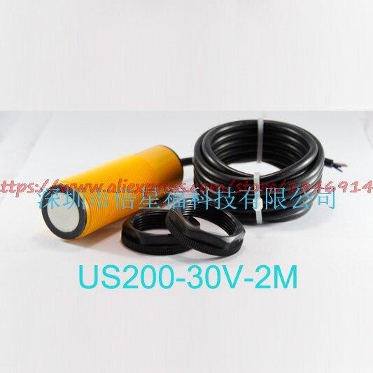 Livraison gratuite kit de mesure de distance à ultrasons US200-30R-485 signal analogique numérique, NPN, capteur à ultrasons de sortie