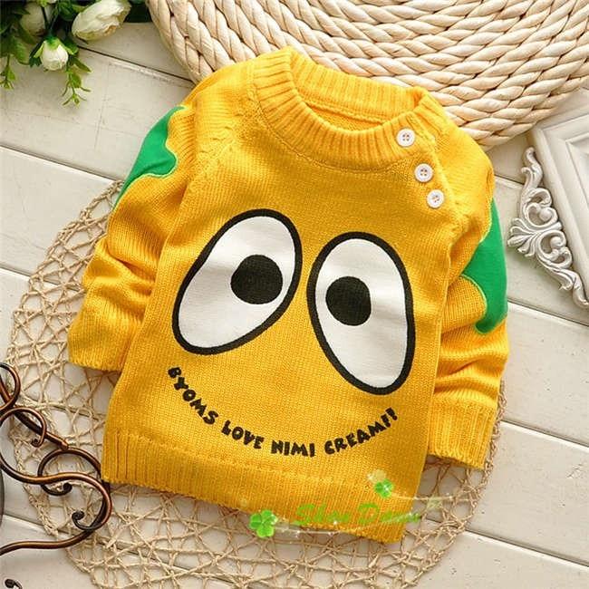 Spring-Autumn-Korean-baby-boys-and-girls-cartoon-Cute-eye-shoulder-buckle-pullover-sweatersV215B-2