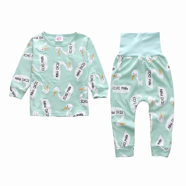 68e16618c1a0 Kids Boys Clothing Pajama Sets Fashion Children Cotton Print O Neck ...